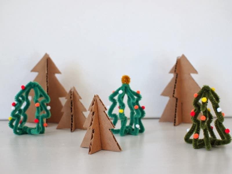árvore de Natal para a Educação Infantil