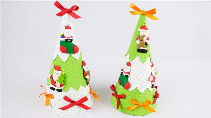 Árvore de Natal de EVA para mesa