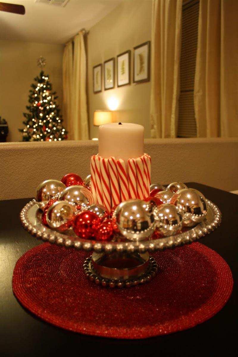 centro de mesa natalino