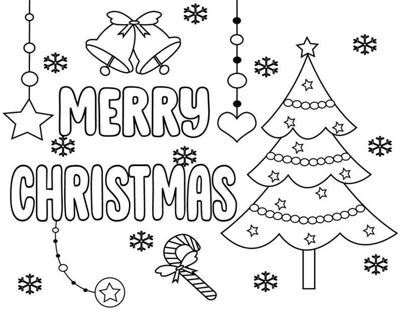 foto de desenho de árvore de natal