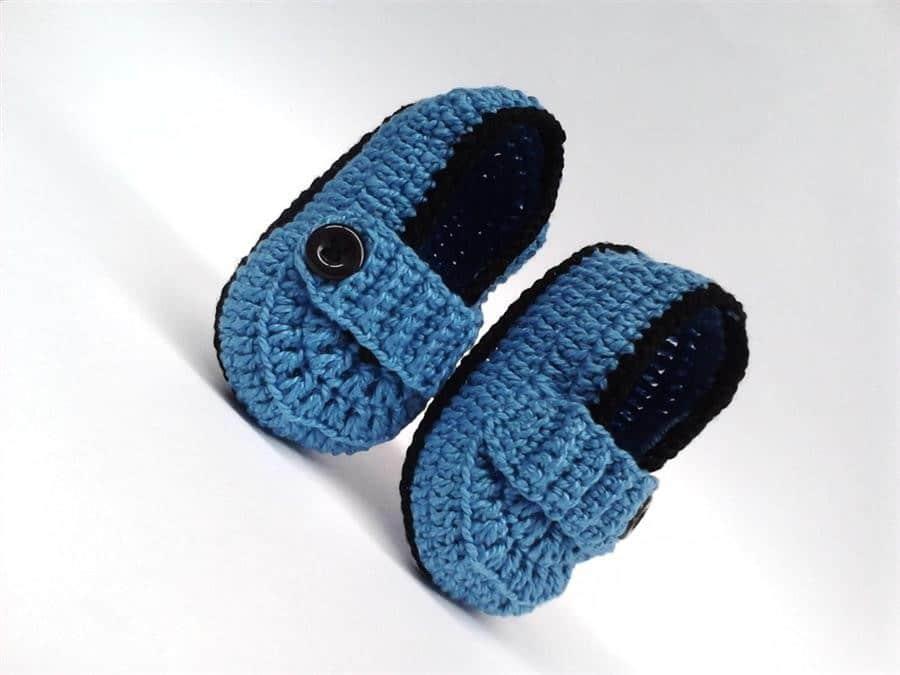 azul e preto com botão lateral