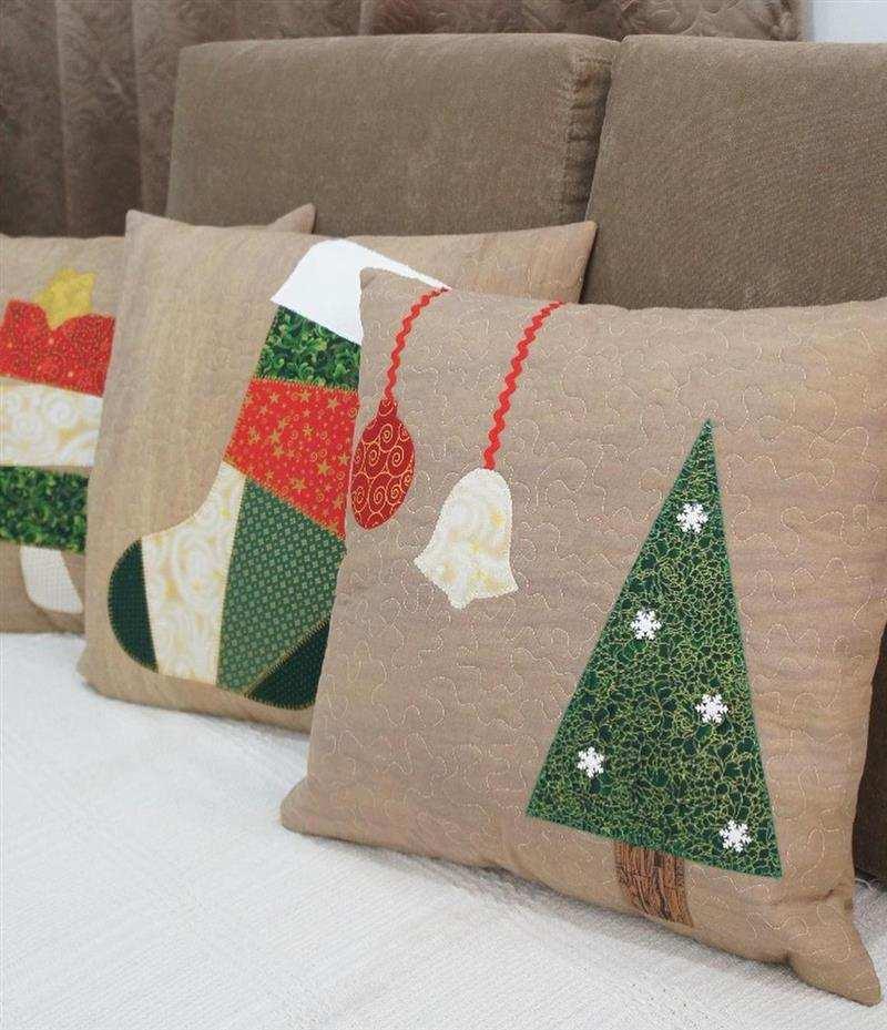 em patchwork natalino