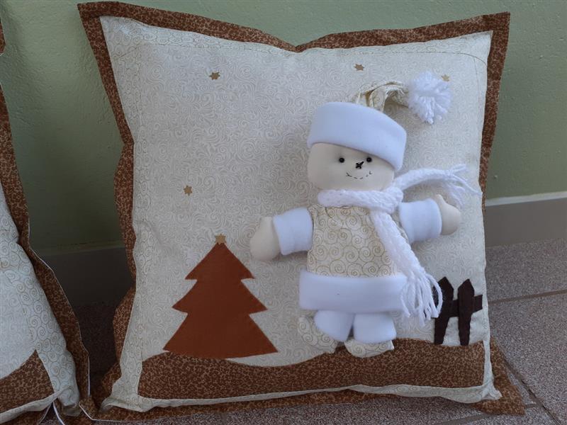 com boneco de neve