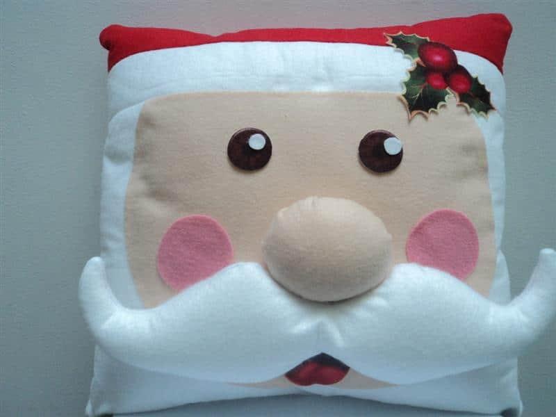 Almofadas de Papai Noel