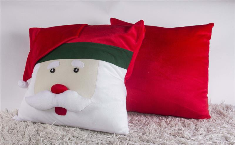 almofadas de natal com feltro