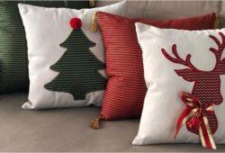 almofadas de natal criativas