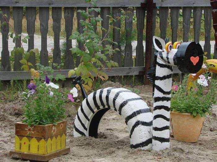 animais decorativos pra jardim