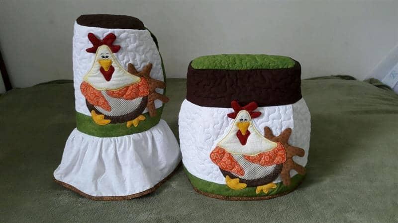 Artesanato de galinha para cozinha