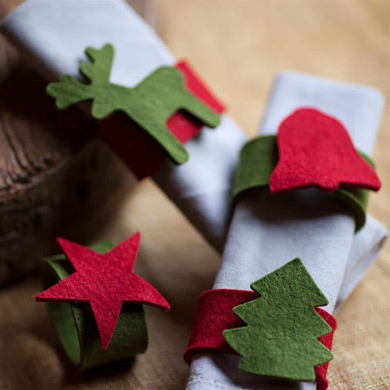 enfeites de natal para mesa artesanato