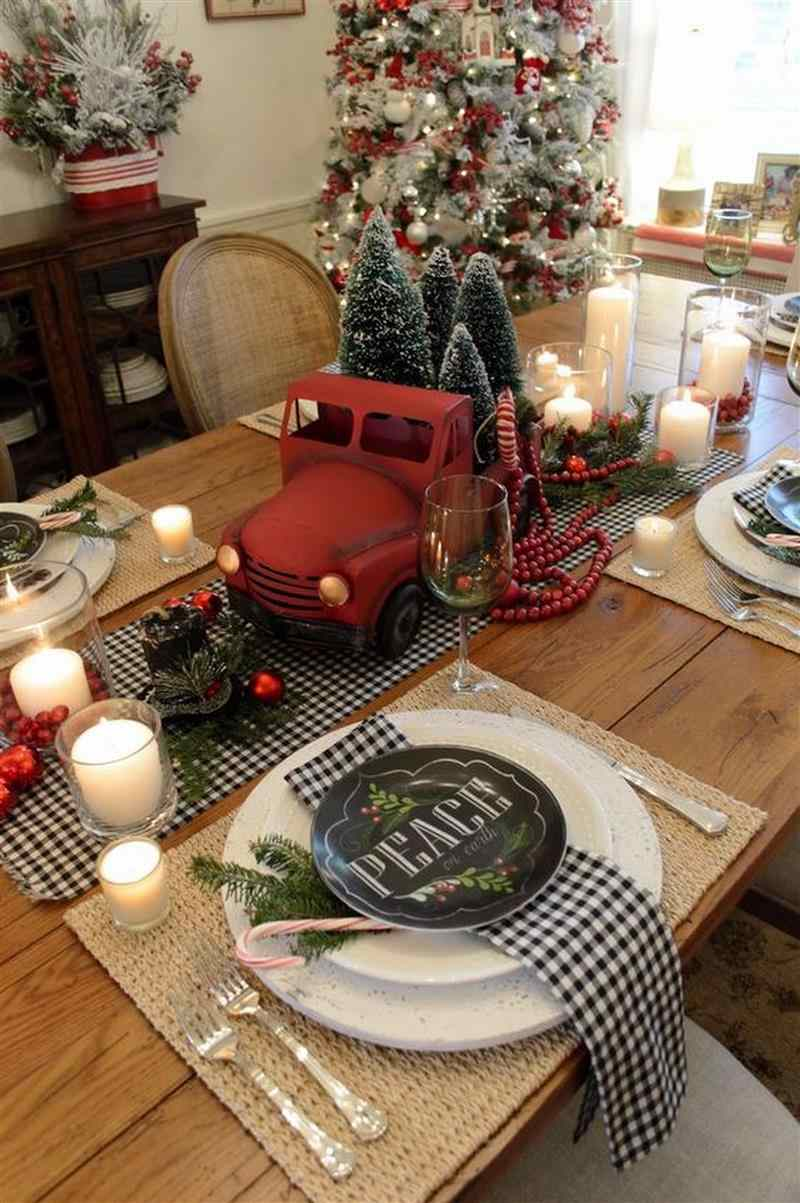 ideias de decoração de natal para sala