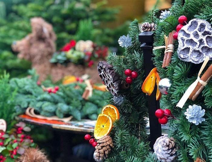 decoração de natal rustica