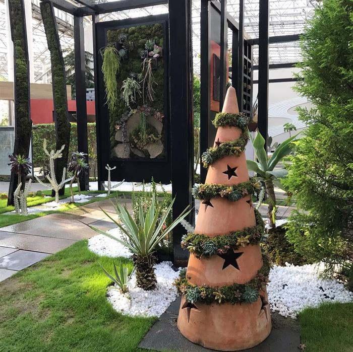 decoração rustica para natal