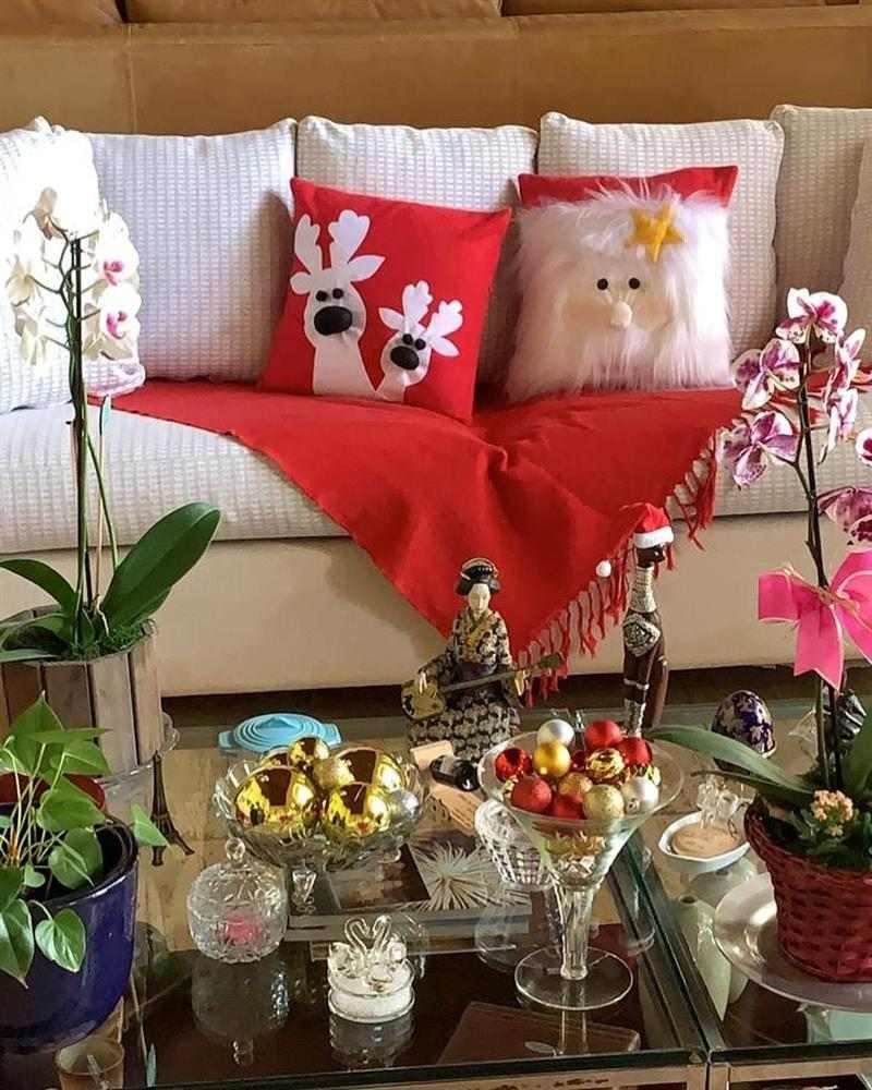 Almofada de Natal artesanal