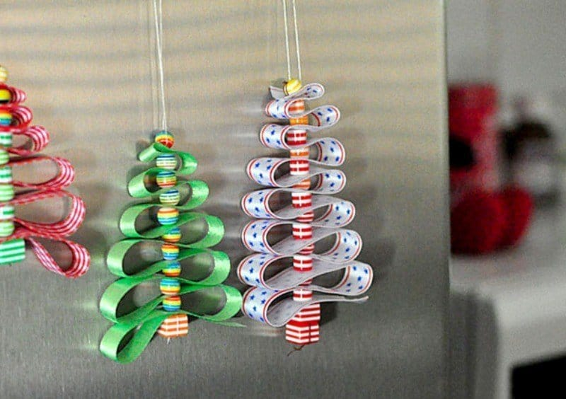 Árvore de Natal de fita