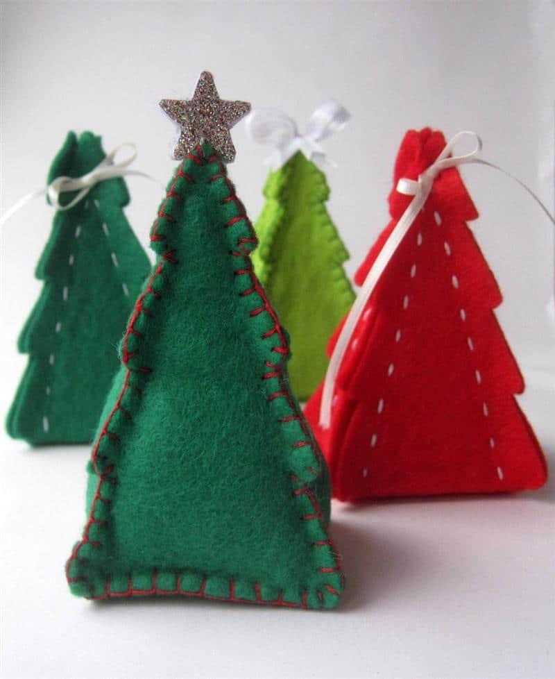 Modelos de árvores de feltro