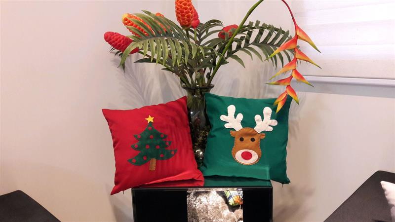 kit de almofadas de natal