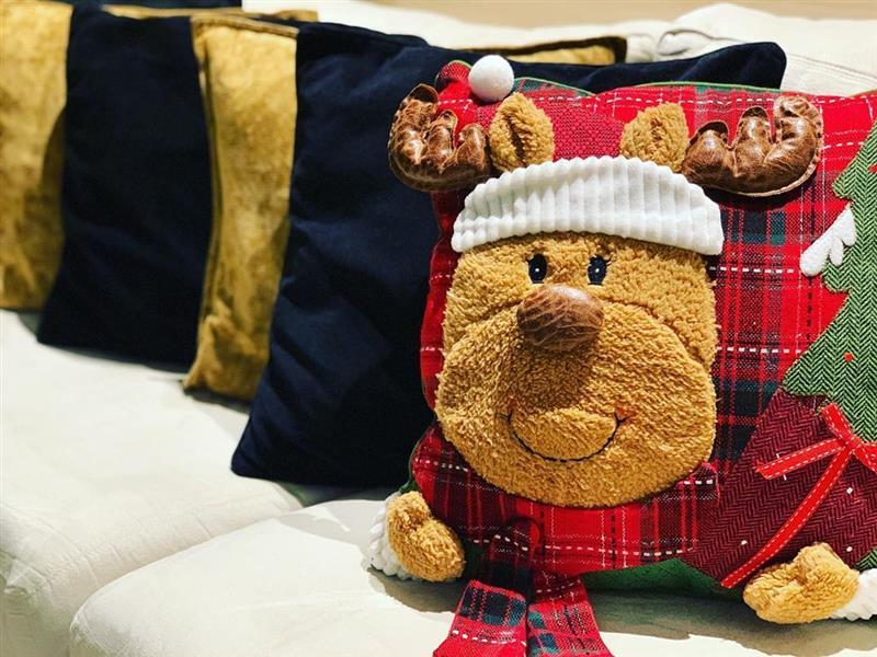 Fotos de capas de almofadas natalinas