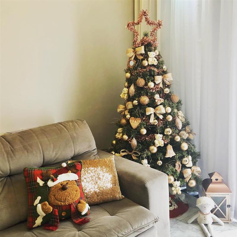 arvore de natal decorada