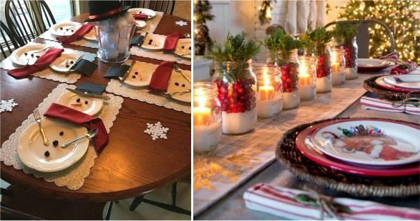 mesa de natal barata