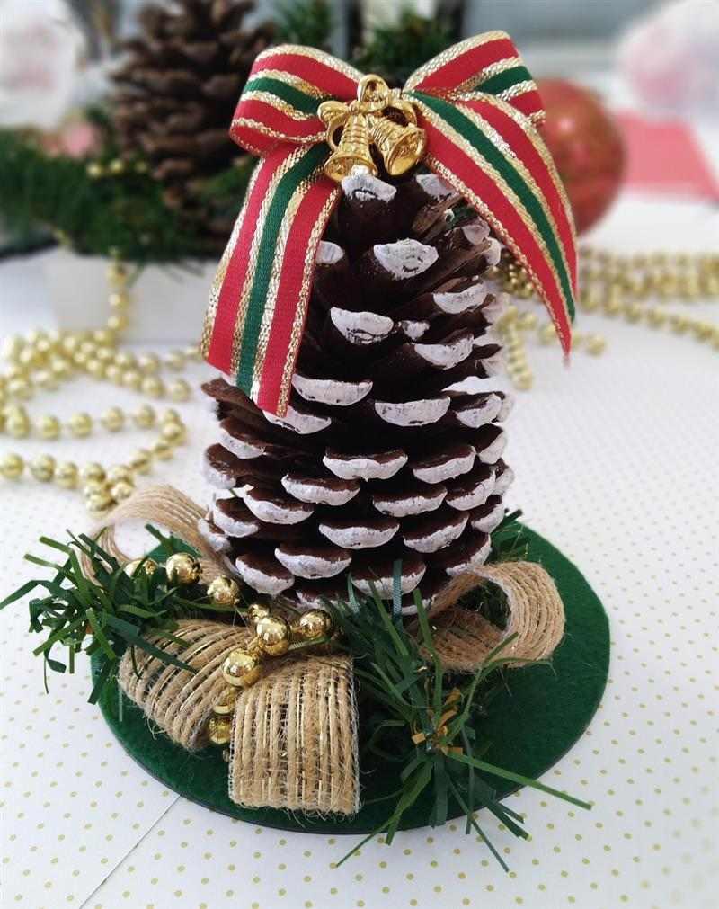 arvore de natal de pinha