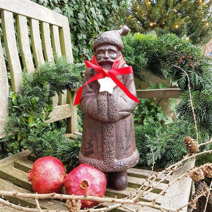 objetos para decorar jardim