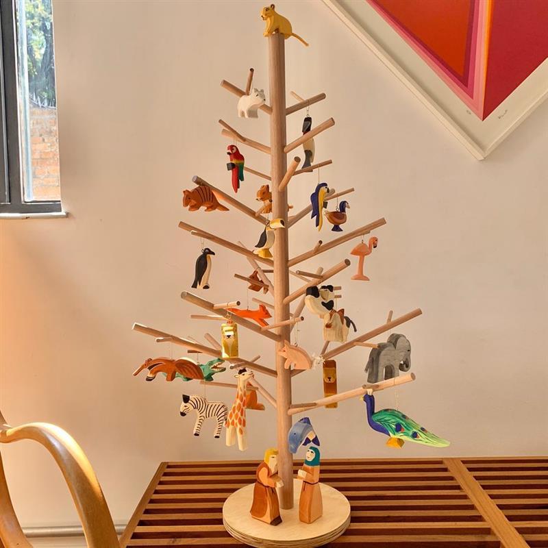 decorada com animais