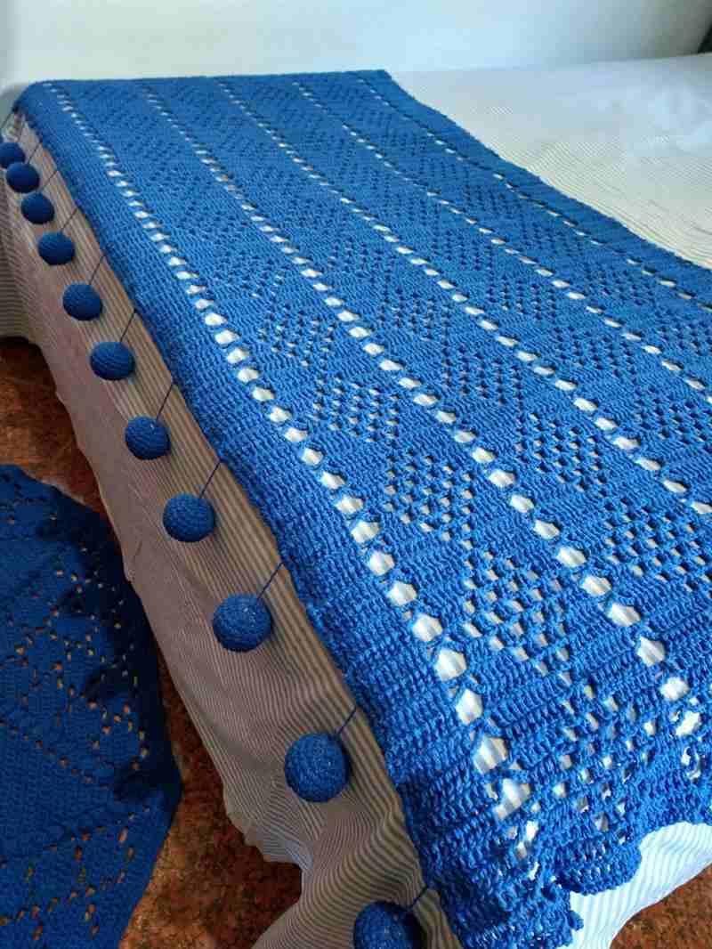 azul com pingente