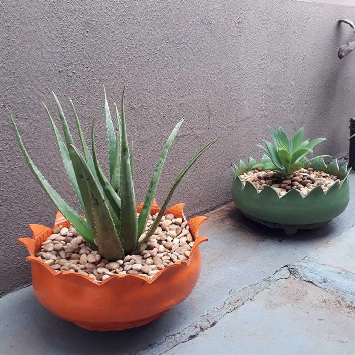 pneus para plantas grandes