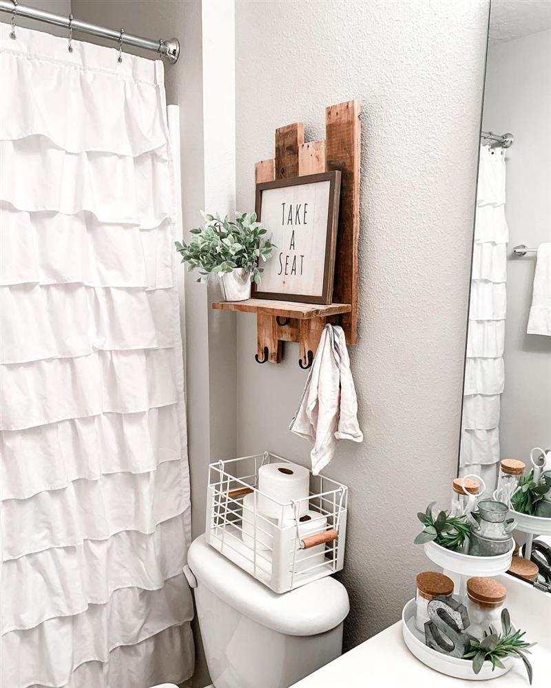 prateleira para banheiro