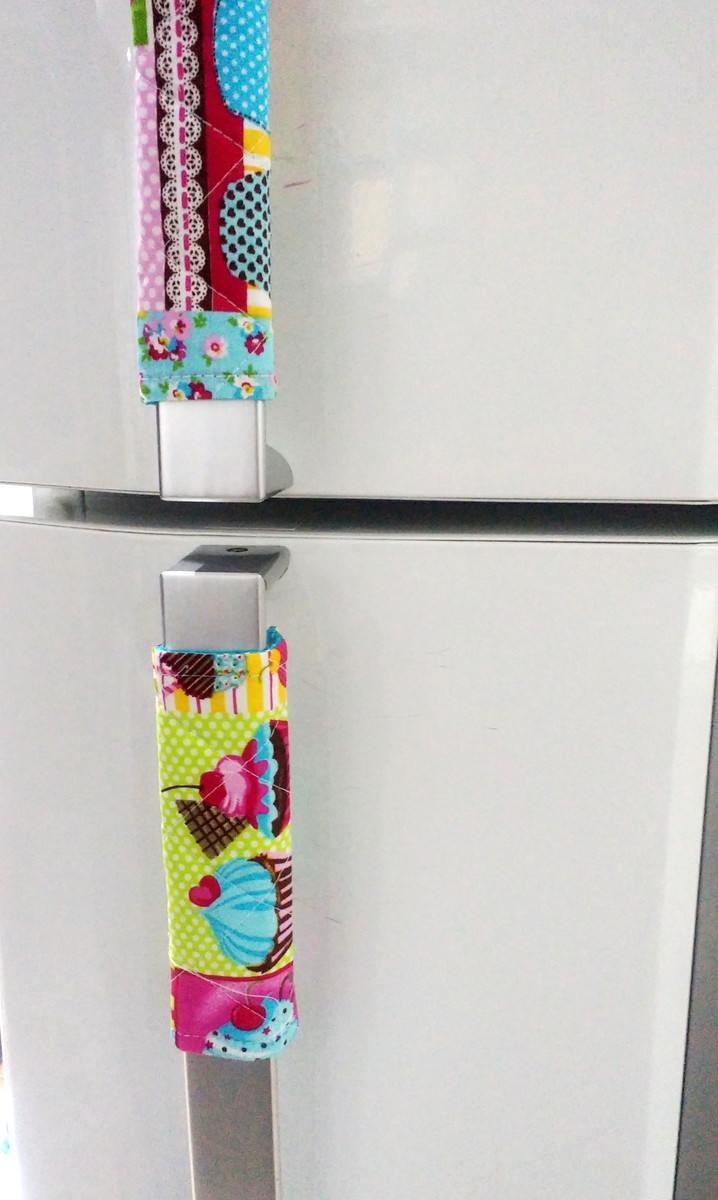 capa para puxador de geladeira