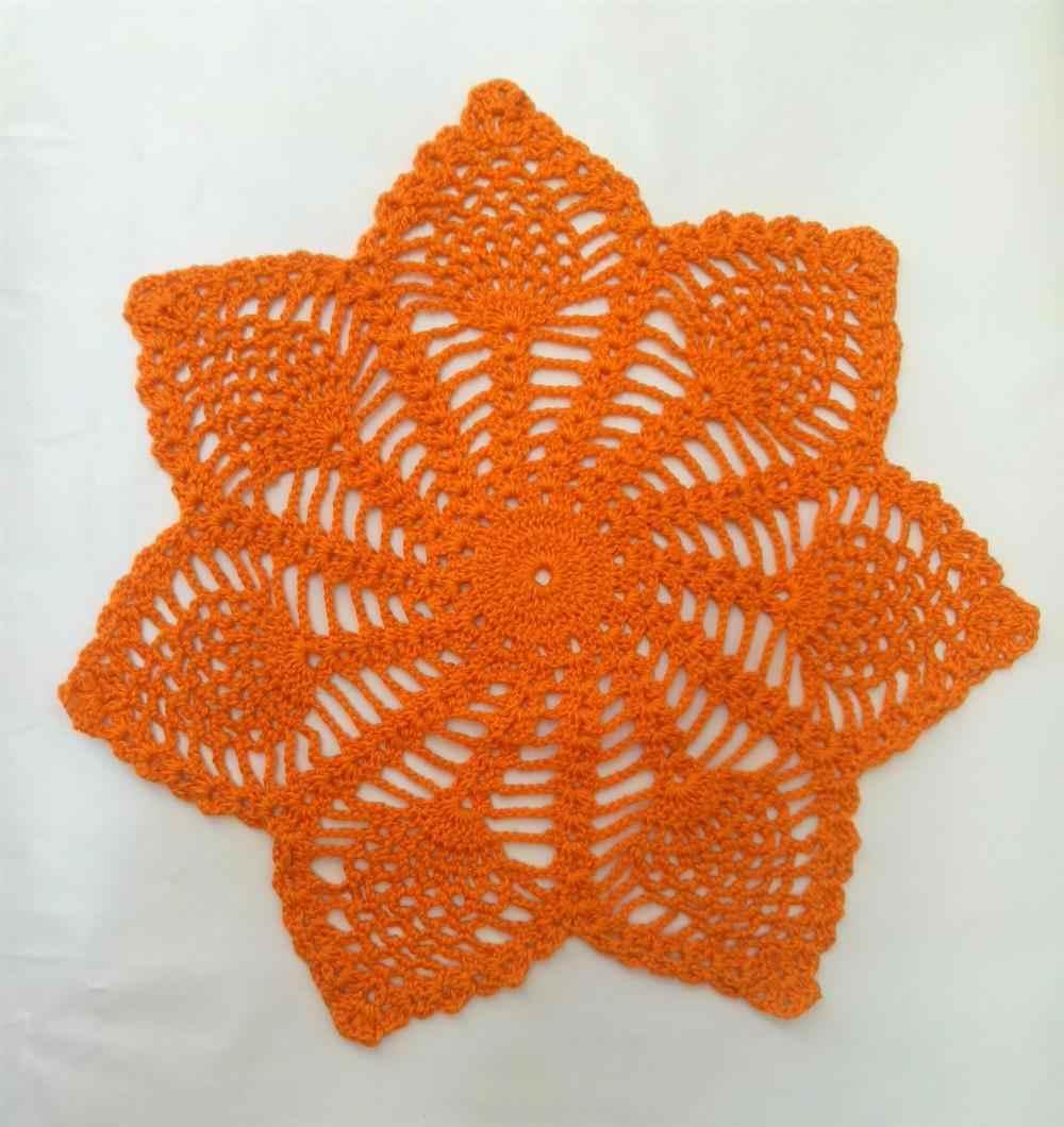 ponto abacaxi em formato de estrela