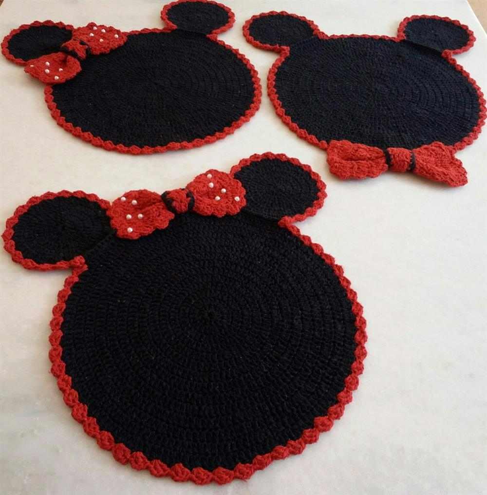 da Minnie e do Mickey