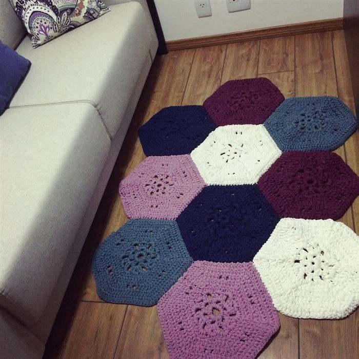 tapete de fio de malha hexagonal