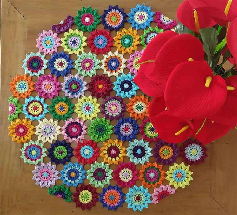 de Squares de flores