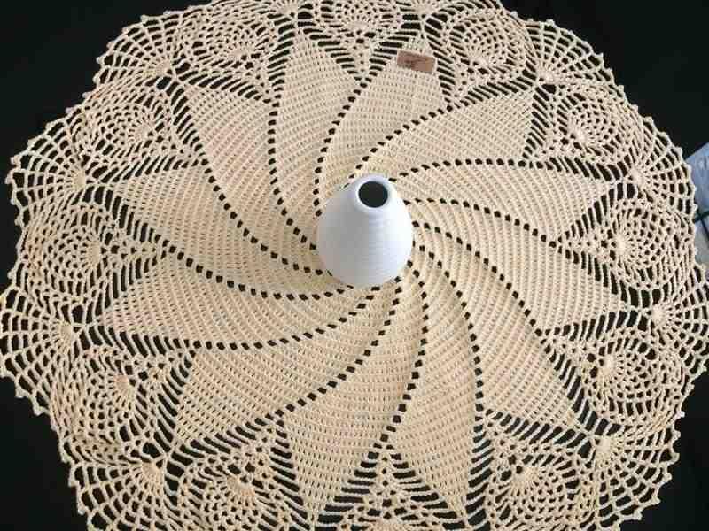 espiral com ponto abacaxi