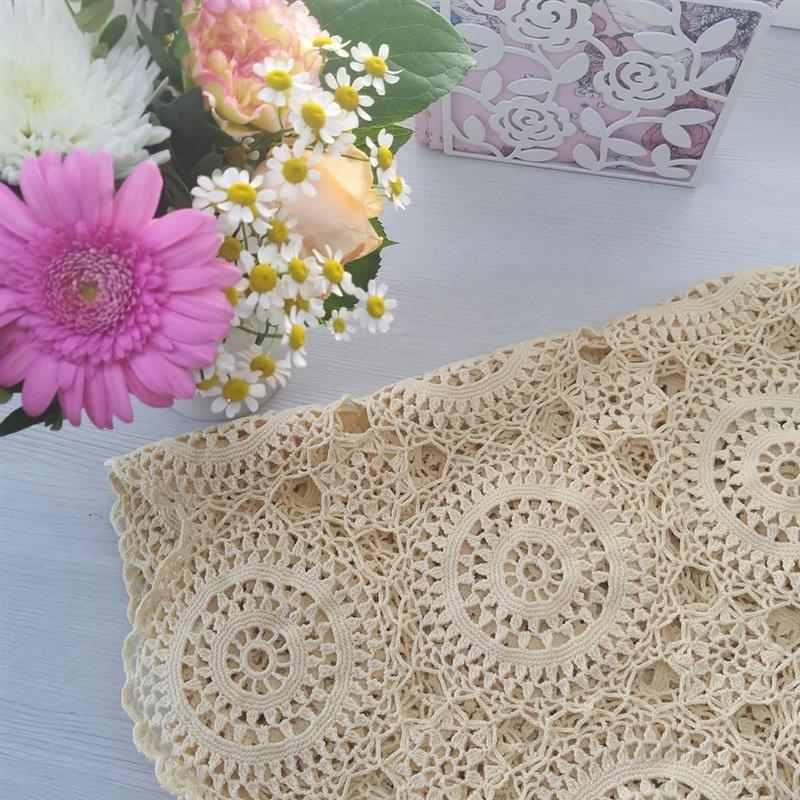 toalhas de crochê fáceis de fazer