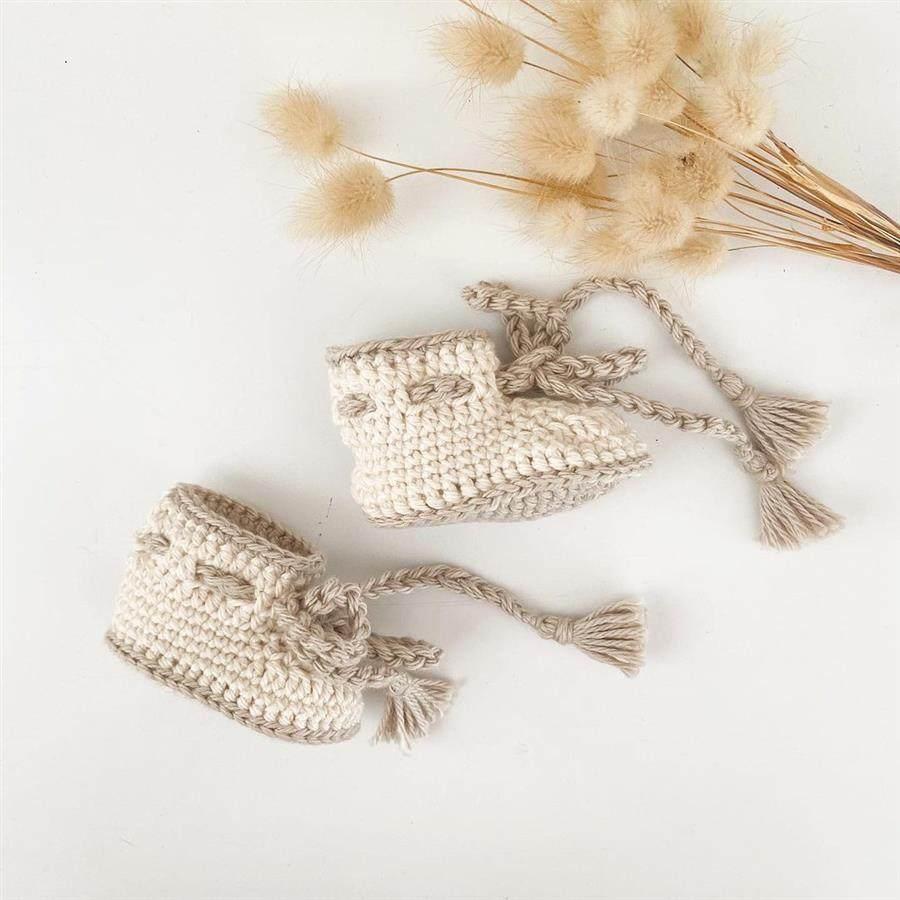 Como fazer sapatinho de crochê