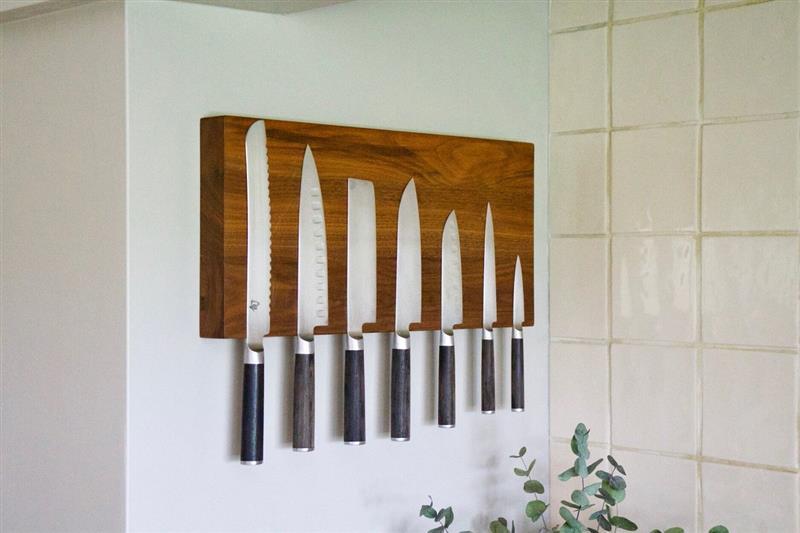 porta facas de parede