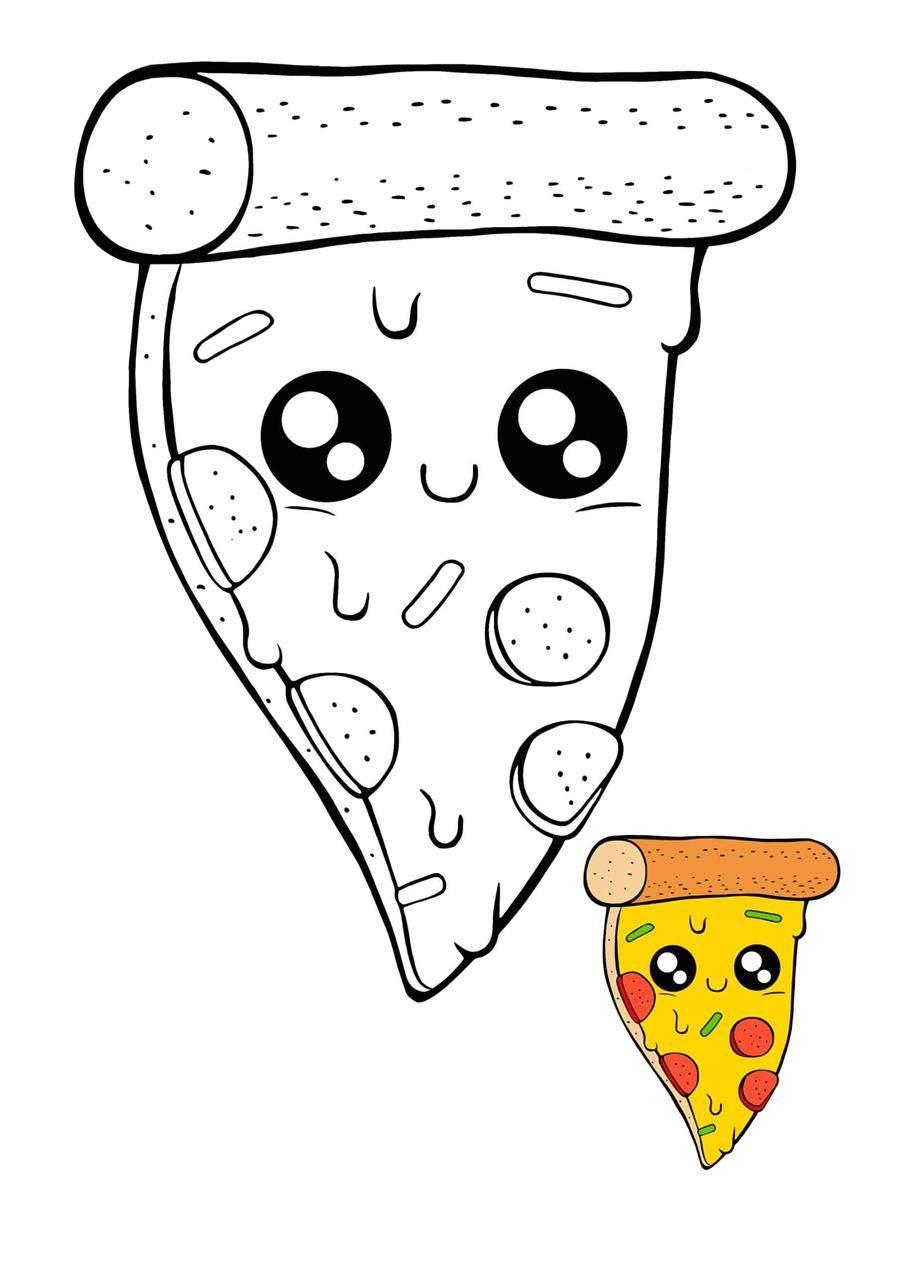 paper squishy de pizza