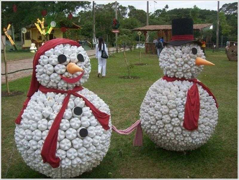Boneco de neve grande