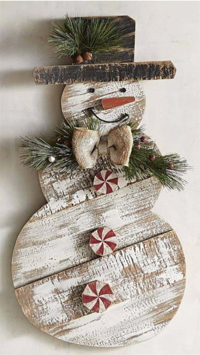 artesanato com madeira natal