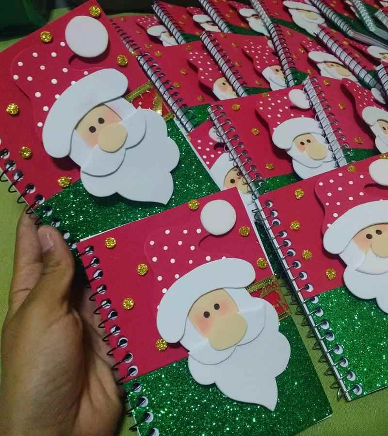 Caderninho de anotações personalizado