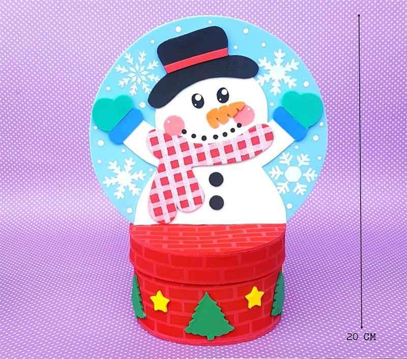 Globo de neve porta doces