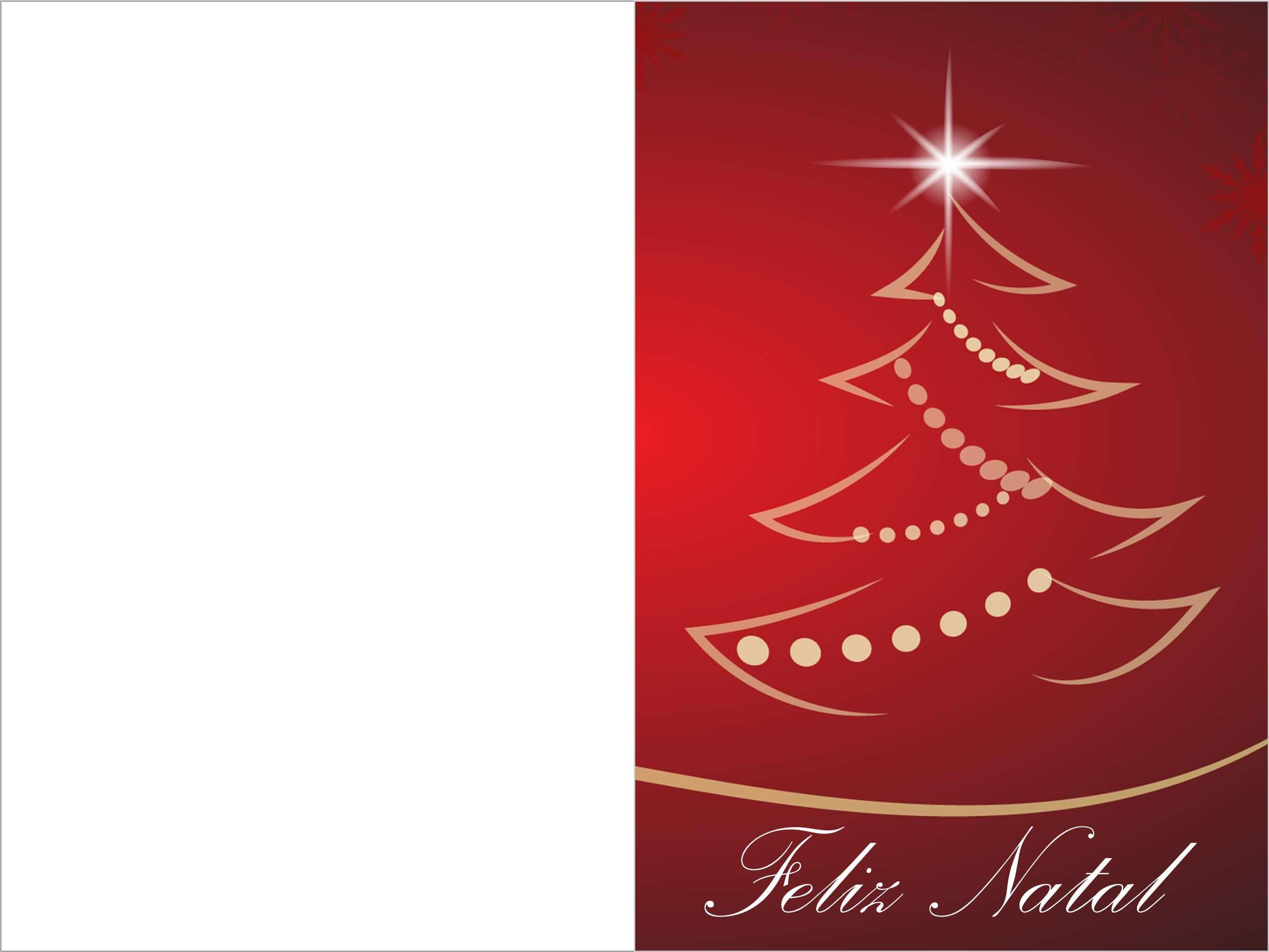 cartao de natal colorido para imprimir