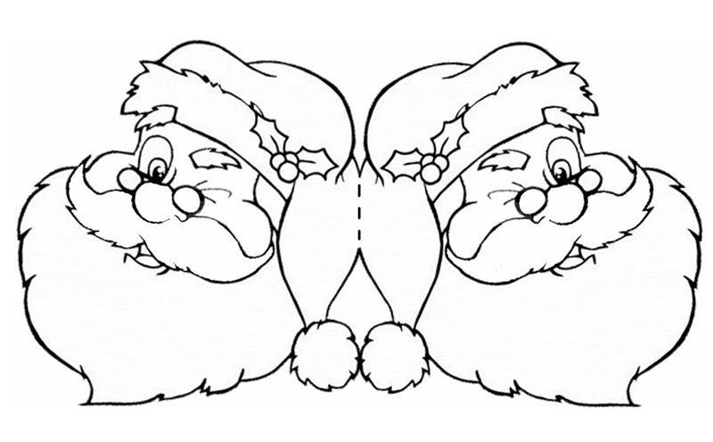 cartao de natal papai noel