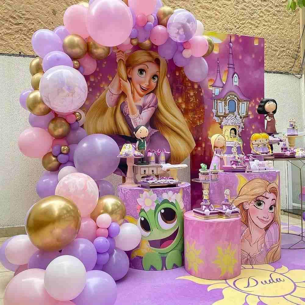 Festa infantil Rapunzel