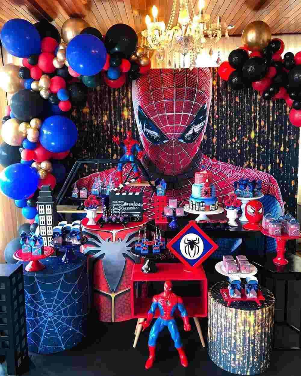 festa infantil do Homem Aranha