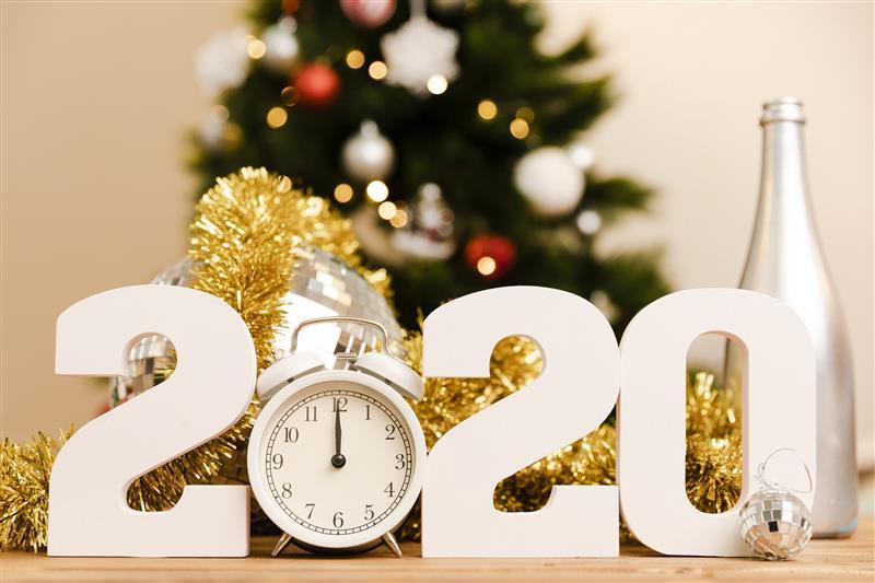 decoração de ano novo simples 2021