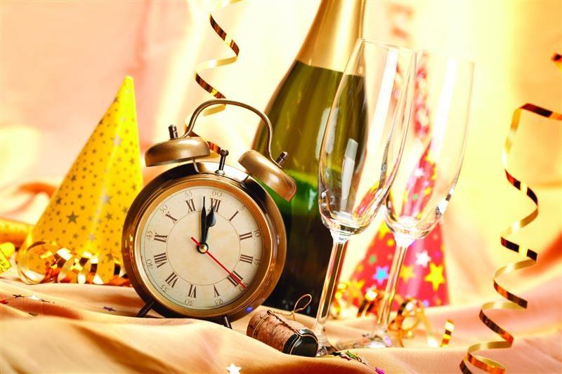 decoração de ano novo bem simples