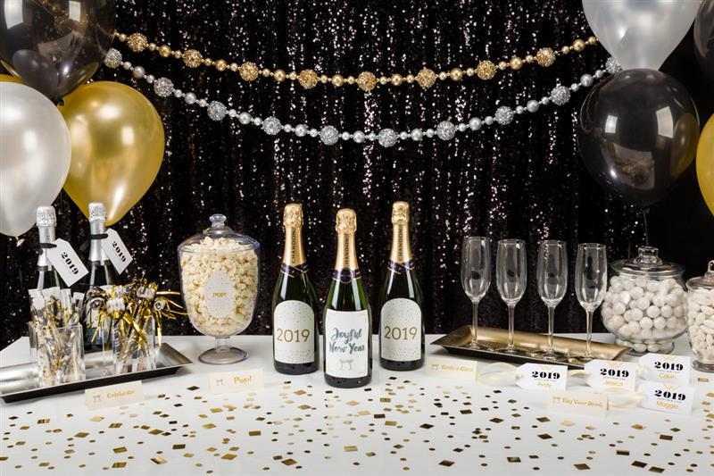 Decoração de Ano Novo facil